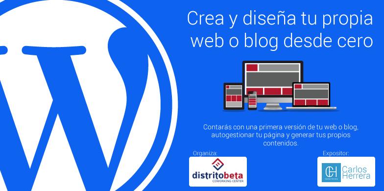 Wordpress crea y dise a tu propia web o blog desde cero for Disena tu propia habitacion