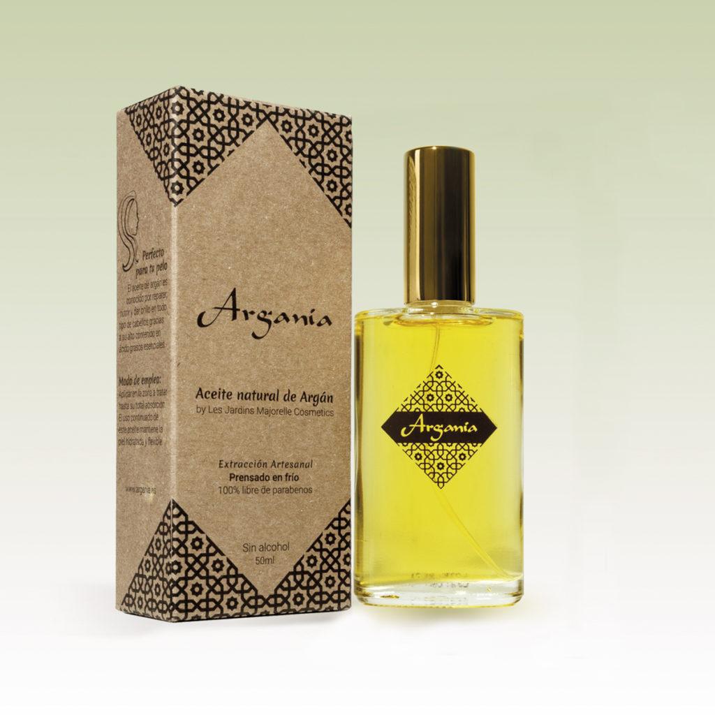 Packaging para aceite de argán en Santander
